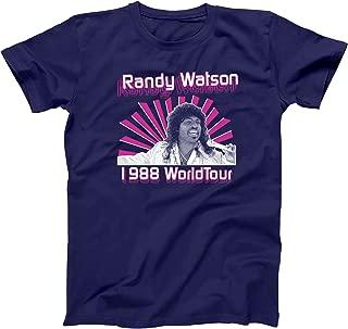 Randy Watson 1988 World Tour Sexual Chocolate Band Jackson Heights Own Hilarious Comedy 80s Movie Humor Mens Shirt