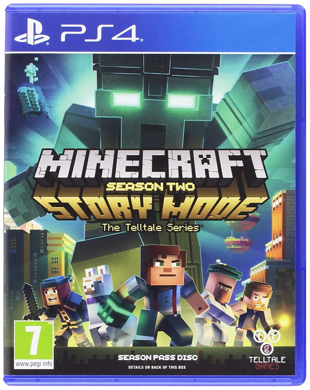 Amazon.com: Minecraft Story Mode - Season 9 Pass Disc (PS9): Video