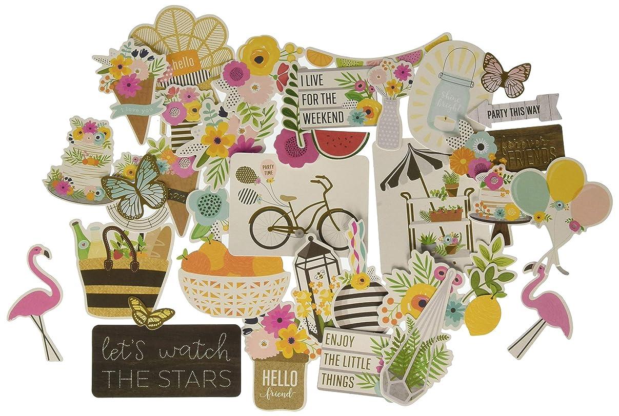 Jen Hadfield 733782 Ephemera Embellishments, Multicolor x00762342235991