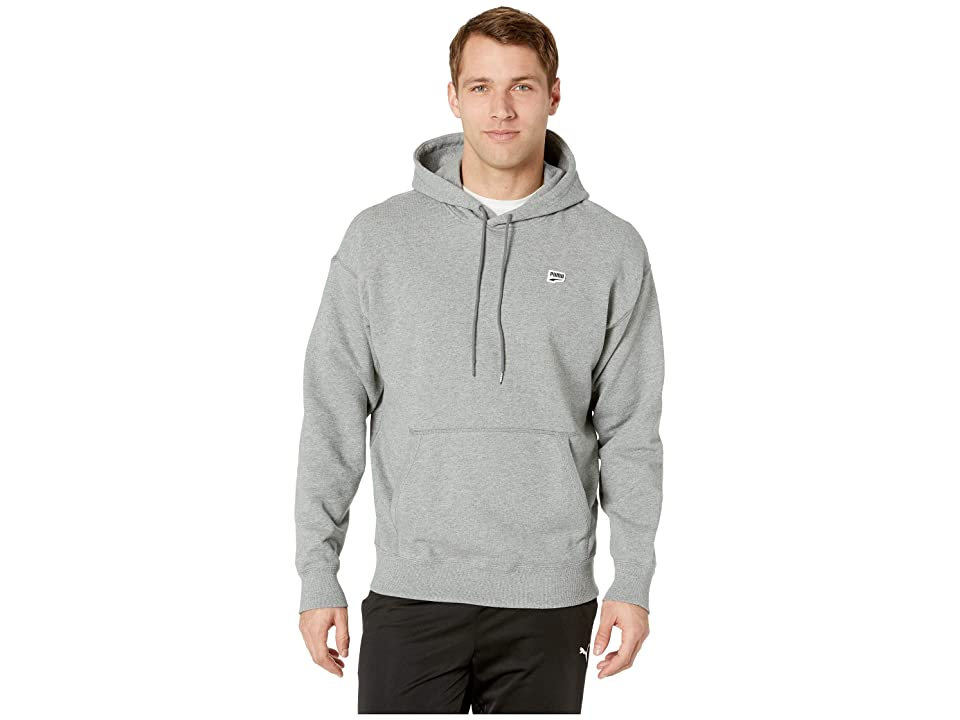 PUMA Downtown Hoody (Medium Grey Heather) Men