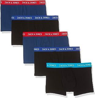 Jack & Jones Men's JACLEE TRUNKS 5 PACK NOOS Trunks Underwear (pack of 5)