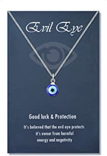 Boho Evil Eye Choker Necklace Anklet Set Seven Colored Water Drops Turkish Eye Necklace Anklet Set for Women Girls Jewelry