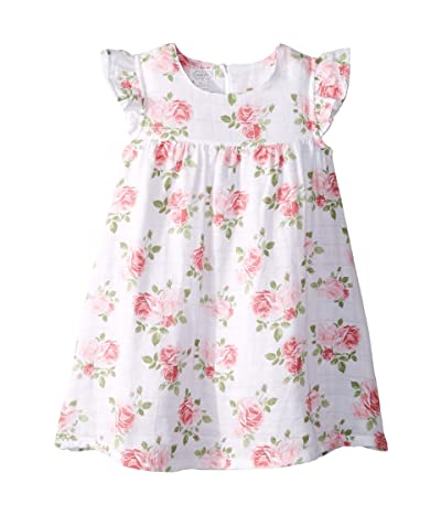 Mud Pie Muslin Rose Dress (Infant/Toddler) (Cream) Girl