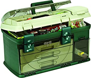 Plano Boîte de rangement à 3 tiroirs Vert métallisé/beige