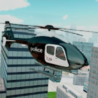 The Police Helicopter Simulator