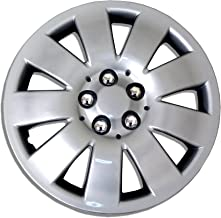 TuningPros WSC-721S15 Hubcaps Wheel Skin Cover 15-Inches Silver Set of 4