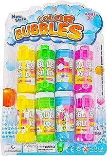 Colourfull Bubbles Liquid, Assorted Colours, Pack of 8 pcs