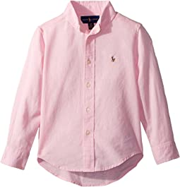 Polo Ralph Lauren Kids Linen-Cotton Shirt (Toddler)