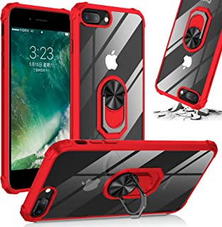 Shockproof Kickstand Clear Phone Case Compatible for [ iPhone 6 Case & iPhone 6s ] [Shock Absorption] 12ft. Drop Tested Pr...