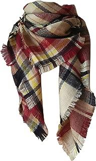 Best mustard blanket scarf Reviews