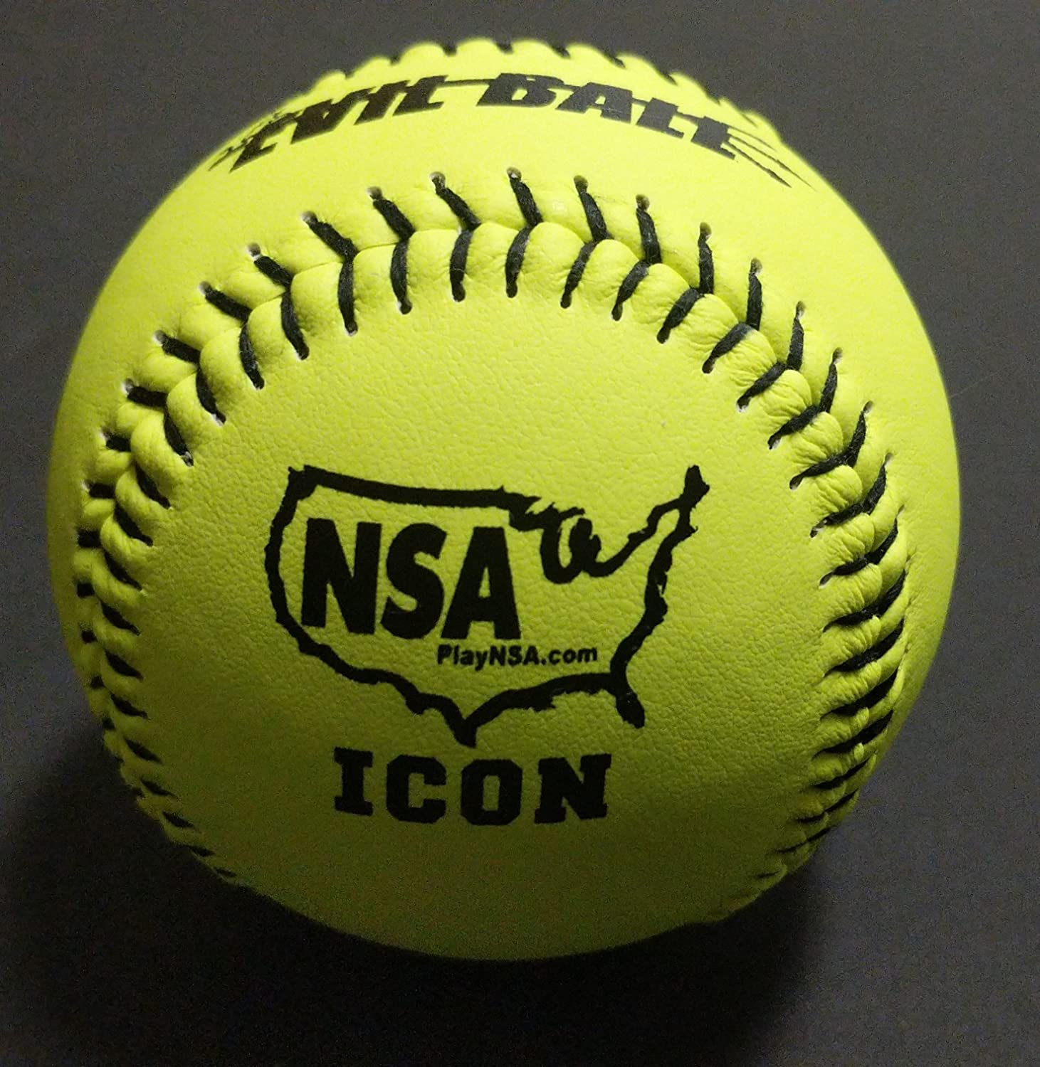 Trump Evil Sports 1 Dozen NSA Evil Ball 12 Softballs 44 COR 400 Compression 12 Balls (MPEvilNSAY)
