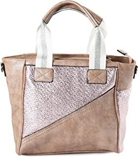 Lenz Shopper Bag For Women, Leather, Multi Color - S18-B038