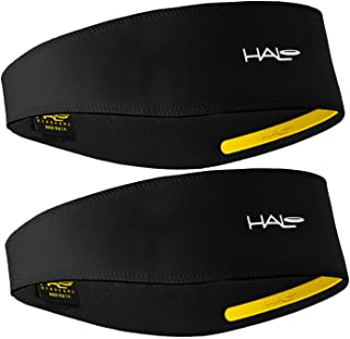 Halo II Headband Sweatband Pullover - 2 Pack - 2-Black...