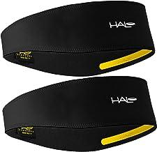 Halo II Headband Sweatband Pullover - 2 Pack - 2-Black Pullover Headbands