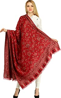 woven shawl dimensions