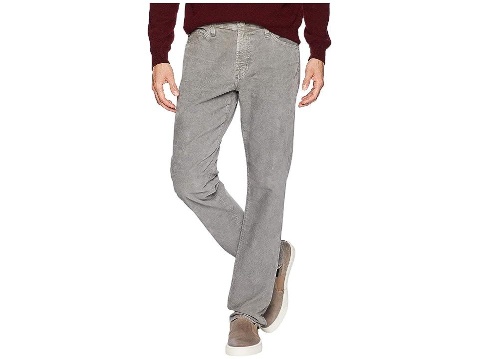 Image of AG Adriano Goldschmied Everett Slim Straight Leg Jeans in Sulfur Autum Fog (Sulfur Autum Fog) Men's Jeans