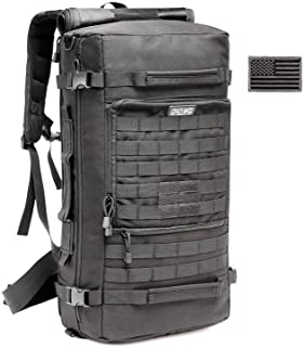 CRAZY ANTS Military Tactical Backpack Hiking Camping Shoulder Bag Upgraded Version