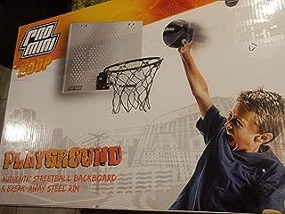 Pro Mini Hoop: Street Ball 18 x 12 Backboard with Spring-Loaded Breakaway Rim, Shatter-Resistant Backboard, 5