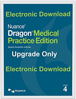 Nuance Dragon Medical Practice Edition 4 Upgrade From Dragon Medical Practice 2 Electronic Download