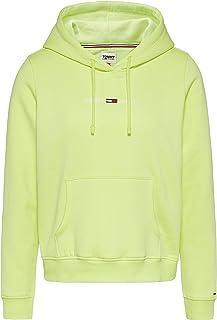 Tommy Jeans Tjw Linear Logo Hoodie Felpa con Cappuccio Donna