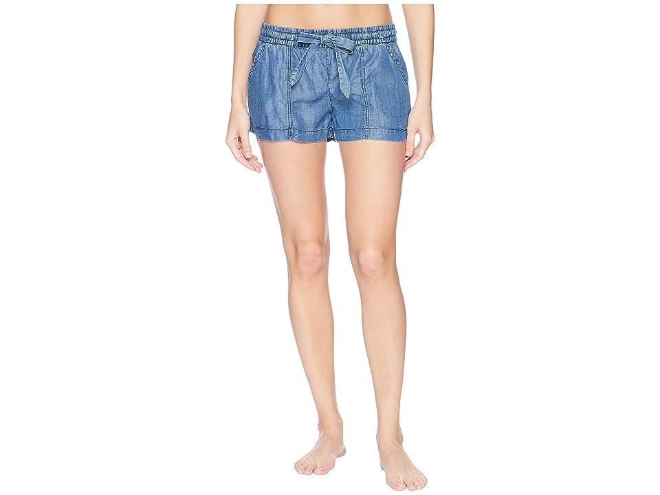 P.J. Salvage Denim Blues Shorts (Denim) Women