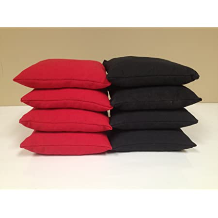 HARRY POTTER SORCERER BLACK CHEVRON 8 Cornhole Bean Bags ACA Regulation