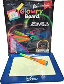 Glow Board Pad Electric Color Explosion With Dried Out Light Design Marker Children Toy Story Read Replacement Book Colour Glowpad Pack Snowboard Station Educational Tablet Art Drawing For Kids