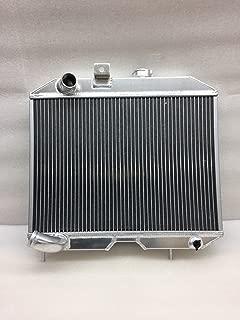 Aluminum Radiator 3 Row Core FOR 41-52 Jeep Willys M38 CJ-2A CJ-3A MB L4 L6 MT only