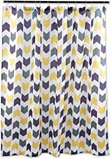 DII Oceanique Shower Curtain 100% Polyester, Machine Washable, for Everyday Use, Kids, Teens, Extra Bathroom, Main Bathroo...