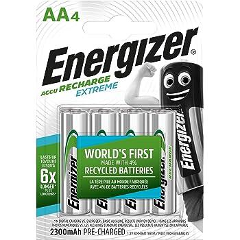 Energizer Akku AA, Recharge Extreme Akkus, 4 Stück