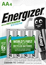 Batterie AA ricaricabili Energizer Recharge Extreme, confezione da 4