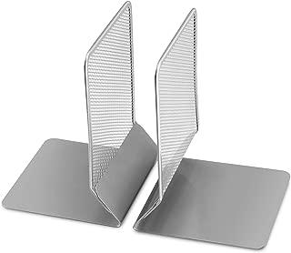 Ybm Home Mesh Metal Bookends Desk Book Holder Set of 2 1104