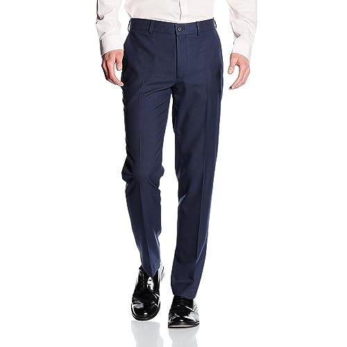 5366d059bdd New Look Men s Basic Slim Suit Trousers
