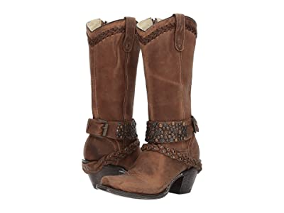 Corral Boots G1398 (Brown) Cowboy Boots