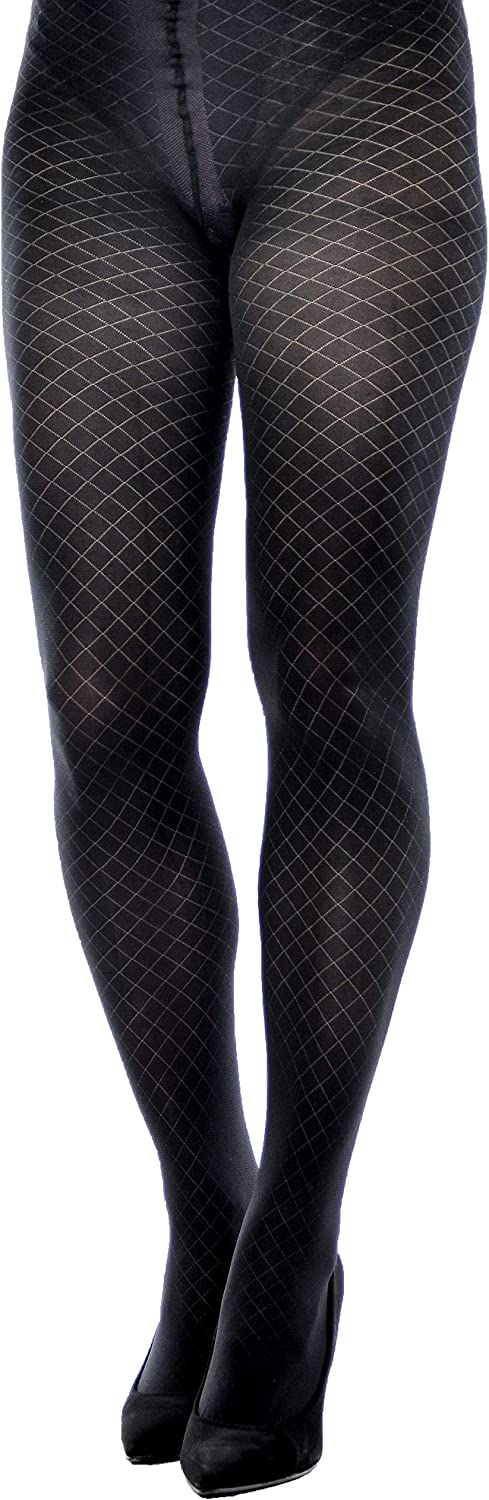 Gajatex Women Winter Thick Patterned Tights Annabell 60 den
