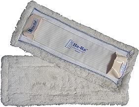 10 Bodentuch Nassfaser weiss lang geeignet für HaRa Bodenexpress 42 cm