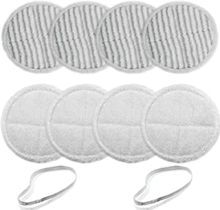 BIHARNT 2124,2039A,2307 Replacement Mop Pads Compatible with Bissell Spinwave Mop(8 Pack)
