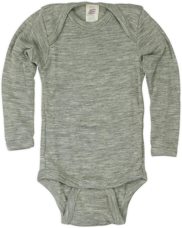 Engel ブランド激安セール会場 Organic 直営ストア Merino Wool Silk Newborn Bodysuit t-Shir Baby Body