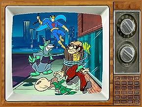 BLUE FALCON & DYNOMUTT TV Fridge MAGNET 2