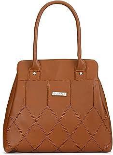 Aisna Women's Cherry Handbag(ASN-204)(Tan)