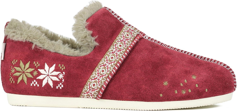 ESmart Joy och Mario Woherrar bildiff Winter Winter Winter Loafers skor Flats (röd in Storlek 6 -10) (6.5 B (M) USA)  det lägsta priset