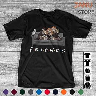 Best Friends Harry Shirt Magical Wizard Potter Sofa Halloween Raglan T-Shirt Sweatshirt Hoodie For Men Women