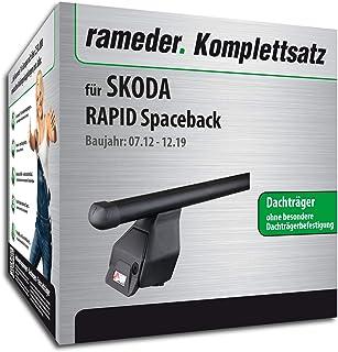 Rameder Komplettsatz, Dachträger Tema für Skoda Rapid Spaceback (118766 11519 1)