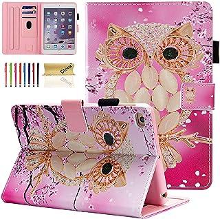 Dteck iPad Mini 1/2/3/4/5 Case - Slim Fit Premium PU Leather [Multi-Angle View] Folio Stand Wallet Cover with Auto Wake/Sl...
