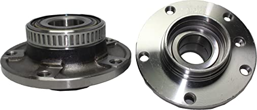 Brand New (Both) Front Wheel Hub and Bearing Assembly for 1991-08 BMW 5 Lug W/ABS (Pair) 513125 x2