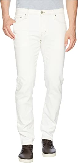 Tellis Modern Slim Leg Denim in 1 Year Eutral White