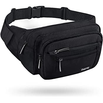 Texas Heart Sport Waist Bag Fanny Pack Adjustable For Travel