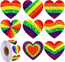 Rainbow Stickers, Gay Pride Stickers, Gay Stickers, 500pcs Rainbow Flag Stickers LGBT Awareness Events, Rainbow Stickers F...