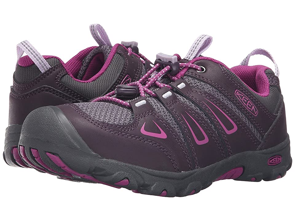Keen Kids Oakridge Low (Little Kid/Big Kid) (Plum/Purple Wine) Girls Shoes