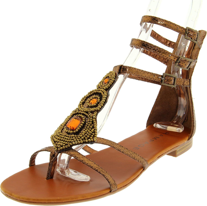 Rampage Women's Germain Ankle-Strap Sandal